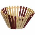 Корзинка бамбуковая -17 см купить оптом и в розницу