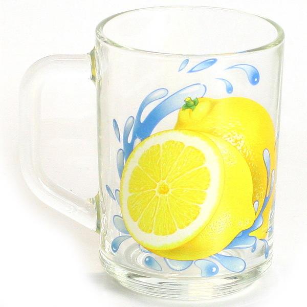 Кружка 300мл Капучино ″Лимон″ ″К″ купить оптом и в розницу