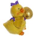 Фигурка ″Цыпленок Золотой с подарком″ 6*4см купить оптом и в розницу