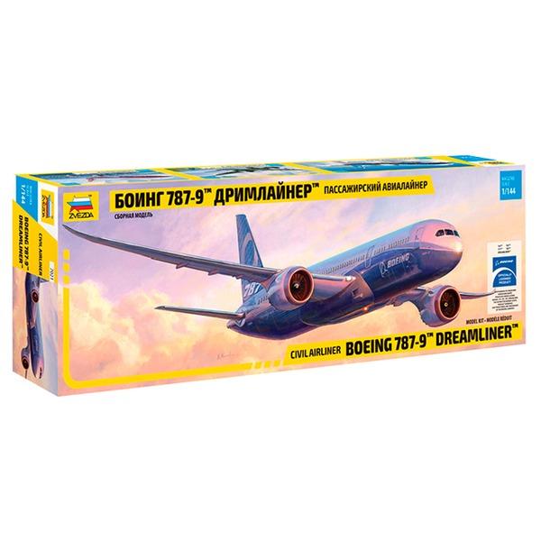 Сб.модель 7021 Самолет Боинг 787-9 Дримлайнер купить оптом и в розницу
