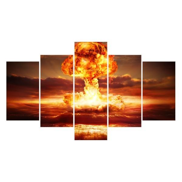 Картина модульная полиптих 75*130 Взрыв диз.1 47-02 купить оптом и в розницу