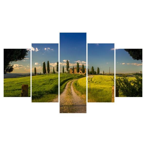Картина модульная полиптих 75*130 Природа диз.17 48-02 купить оптом и в розницу