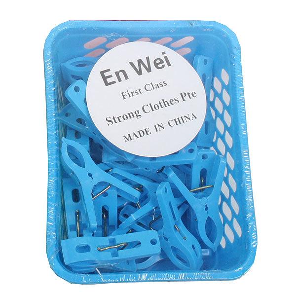 Прищепки пластиковые в корзине 181-2092 (24шт.) купить оптом и в розницу