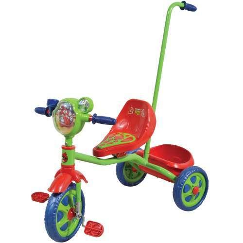 Велосипед 3-х Angry Birds Т57659 с ручкой купить оптом и в розницу