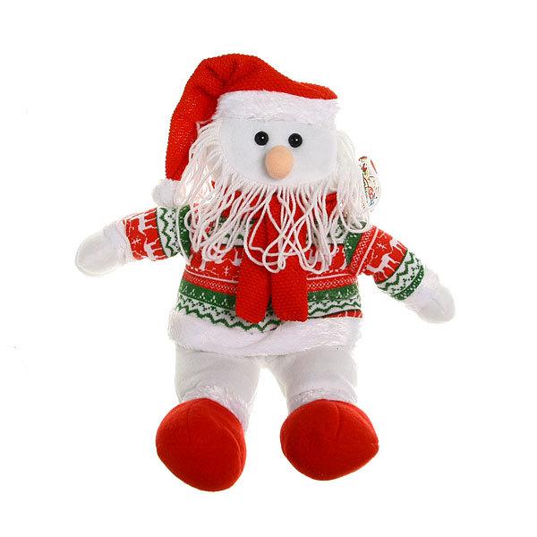 Мягкая игрушка Дед Мороз 25см купить оптом и в розницу