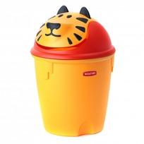 """Контейнер для мусора """"Тигренок"""" Curver желтый/4 шт 265*265*385 купить оптом и в розницу"""