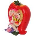 Фигурка из полистоуна ″Детки в ягодке ″ с клубничкой KW10171 В купить оптом и в розницу
