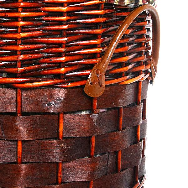 Корзина для белья плетенная HF-472 48х52 купить оптом и в розницу