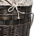 Корзина для белья плетенная HF-372 48х52 купить оптом и в розницу