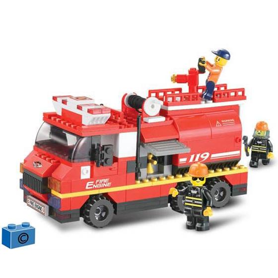 Констр-р 38-0220 Пожарная служба 281 дет.в кор. купить оптом и в розницу
