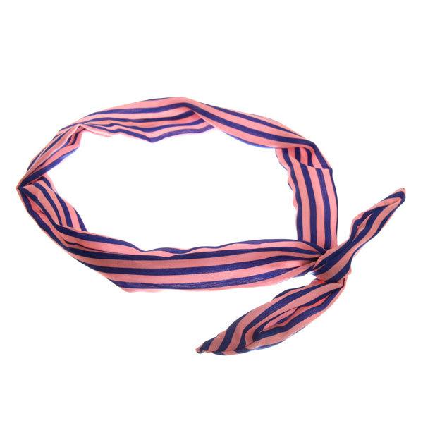 Ободок гибкий для волос ″Коллекция Барбара″ полосочка 150-32 купить оптом и в розницу