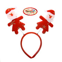 Ободок карнавальный ″Дед Мороз в снежинках″ 29*17см купить оптом и в розницу