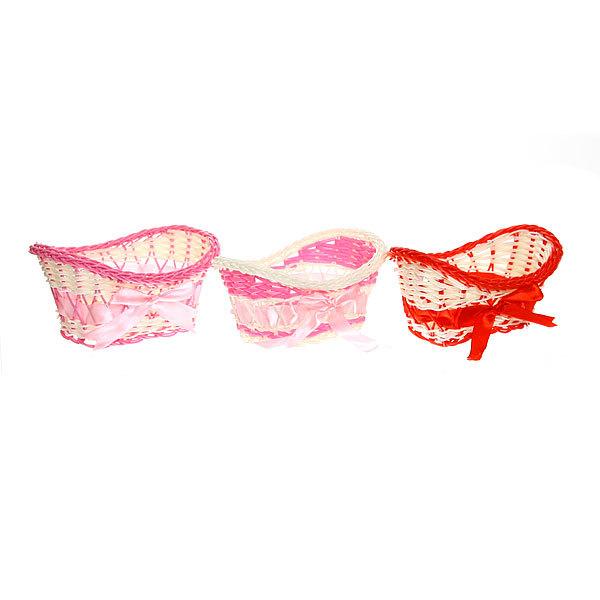 Корзина декоративная плетеная (1шт) 8*16*11см 181 - 4 купить оптом и в розницу