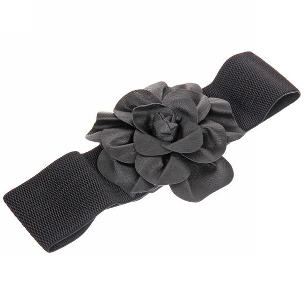 Ремень женский эко-кожа ″Flower″, микс цветов 75*7,5см купить оптом и в розницу