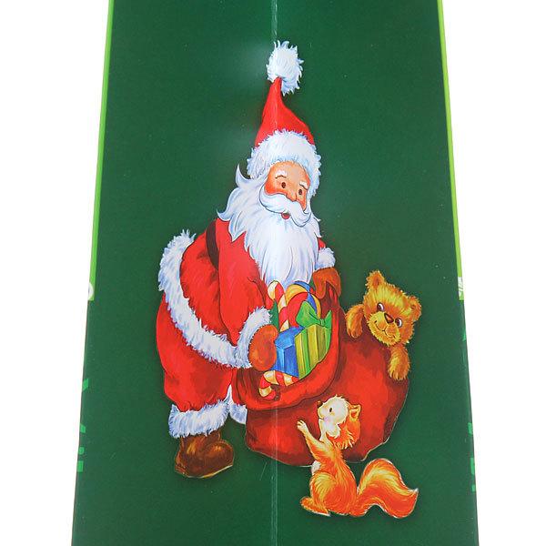 Пакет подарочный 42х31х12 см ″Дед Мороз″ 3D купить оптом и в розницу