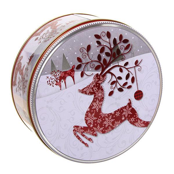 Набор банок жестяных 3шт ″Олени″ (400,700,1500мл) купить оптом и в розницу