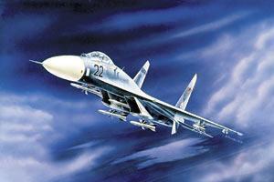 Сб.модель 7206 Самолет Су-27 купить оптом и в розницу