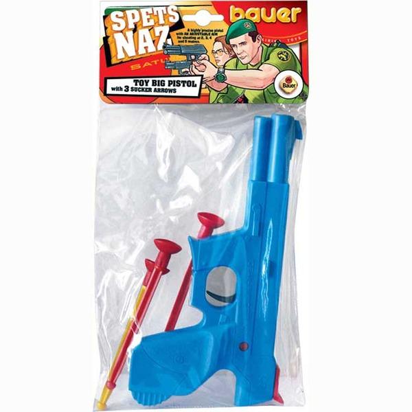 Пистолет Спецагент с присосками 117 Bauer купить оптом и в розницу