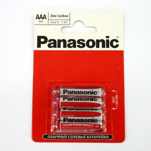Элемент питания Panasonic Zinc Carbon R03RZ блистер 4шт, 1.5В (1/12) купить оптом и в розницу