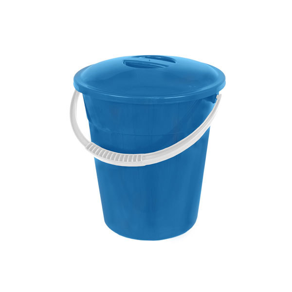 Ведро пластиковое, пищевое, в крышкой 8 л купить оптом и в розницу