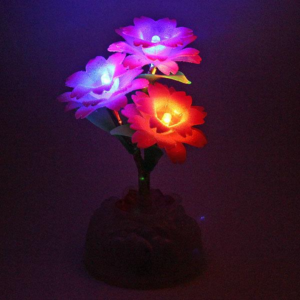 Фигурка из акрила ″Гвоздики″ 17 см LED купить оптом и в розницу
