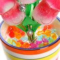 Фигурка из акрила ″Тюльпаны в горшке″ 18 см 6 штук в вазе купить оптом и в розницу