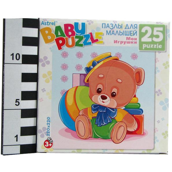 Пазл 25 Медведь 6253 Астрайт /10/ купить оптом и в розницу