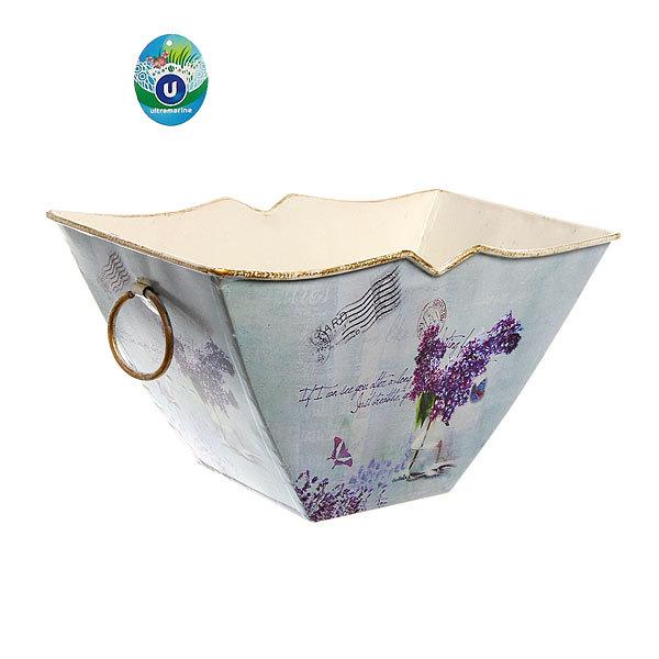 Кашпо для цветов ″Сирень″ 17х16,5х9см 12-1051 купить оптом и в розницу