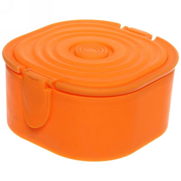 Ланч-бокс пластиковый 700 мл (ложка) купить оптом и в розницу