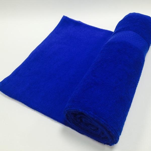 Полотенце махровое 50х90 цв.васильковый Марьины узоры купить оптом и в розницу