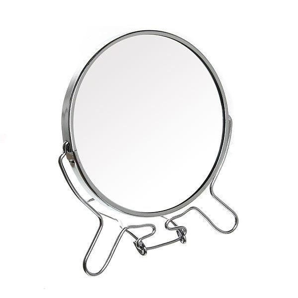 Зеркало настольное в металлической оправе ″Модерн″ круг d19.5см купить оптом и в розницу