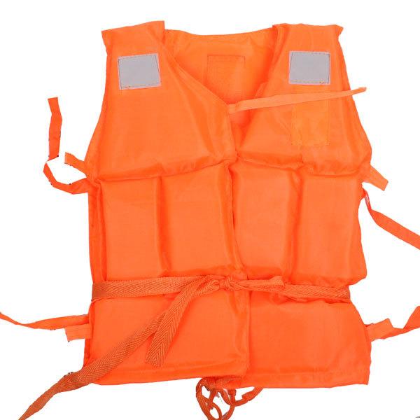 Жилет страховочный оранжевый LV07 мал размер купить оптом и в розницу