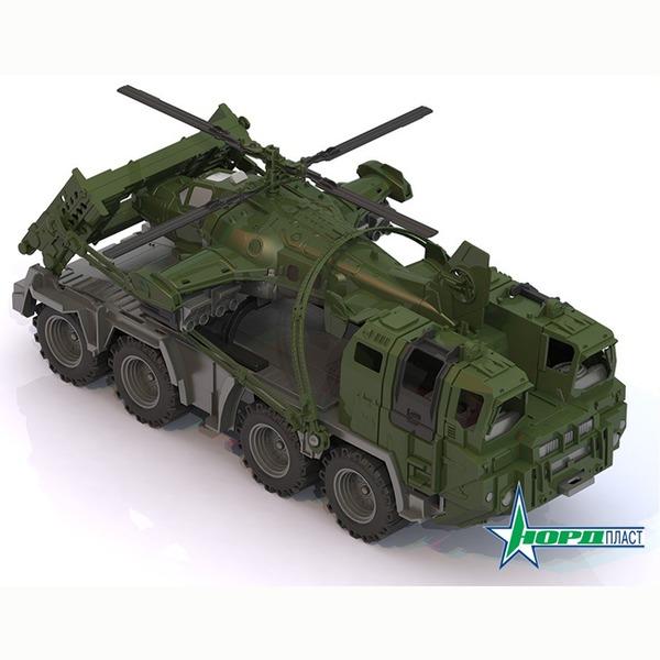 Автомобиль Военный тягач Щит с вертолетом 256 Норд /16/ купить оптом и в розницу