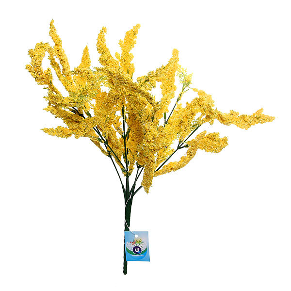 Цветы искусственные 33см букет Полевые цветы 1042 купить оптом и в розницу