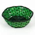 Корзинка плетёная цветная шестиугольная 609 купить оптом и в розницу