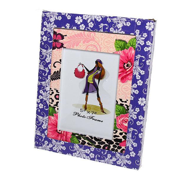 Фоторамка из керамики ″Розы и бабочка″ 13*18 см купить оптом и в розницу