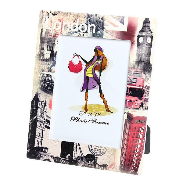 Фоторамка из керамики ″Лондон, достопримечательности″ 13*18 см купить оптом и в розницу