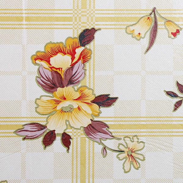 Скатерть 142*228см ″Полевые цветы″, пвх купить оптом и в розницу