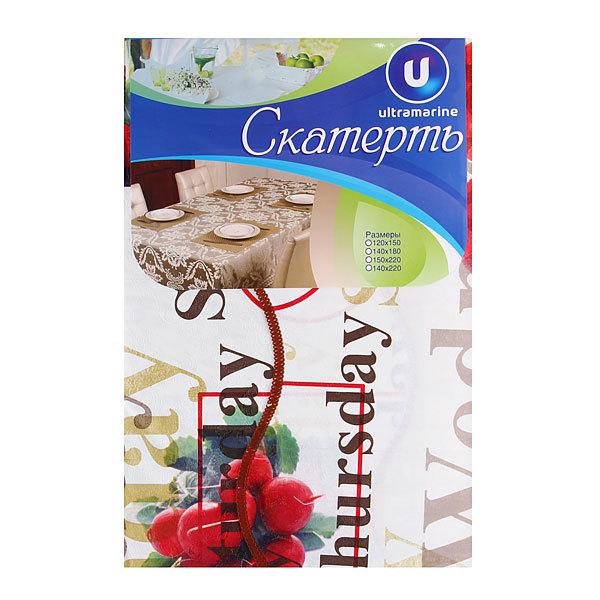 Скатерть морозоустойчивая 142*203см ″Вегетарианская″ купить оптом и в розницу