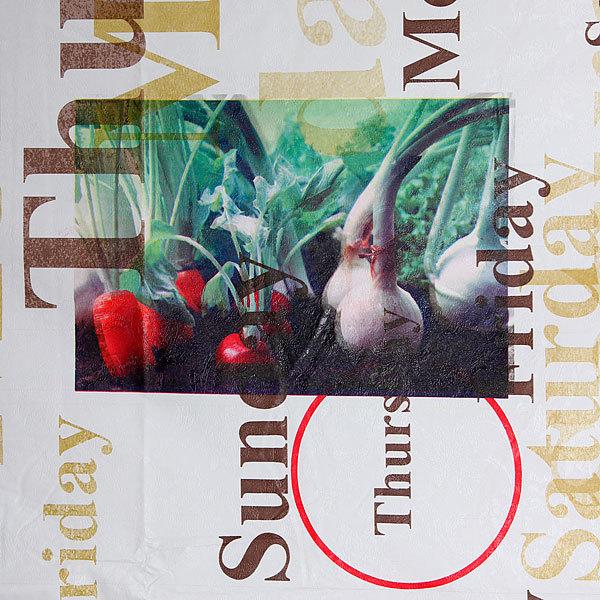 Скатерть морозоустойчивая 142*228см ″Вегетарианская″ купить оптом и в розницу