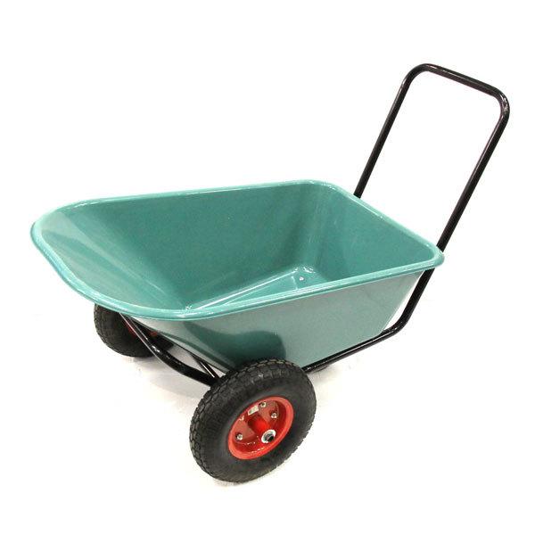 Тачка садовая WВ3500 3х-кол. 85л /160кг, (4.00-6), кузов пластик 4мм купить оптом и в розницу