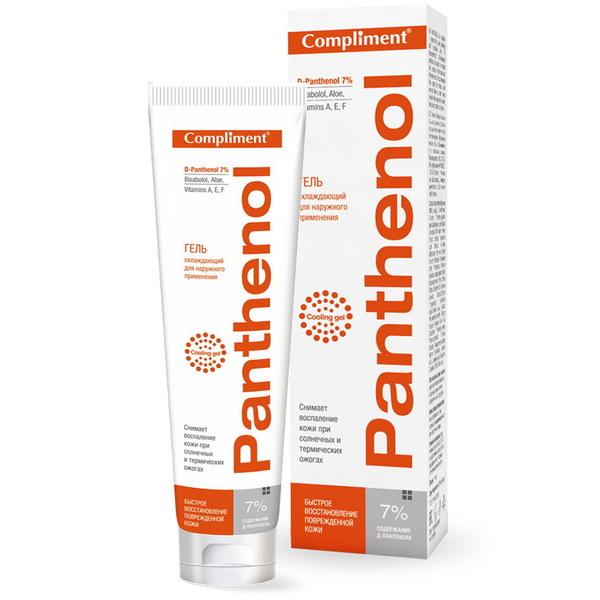 Гель охлаждающий для наружного применения 75мл Compliment Panthenol купить оптом и в розницу