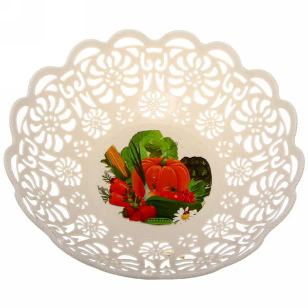 Фруктовница ″Кружево″ овощи купить оптом и в розницу