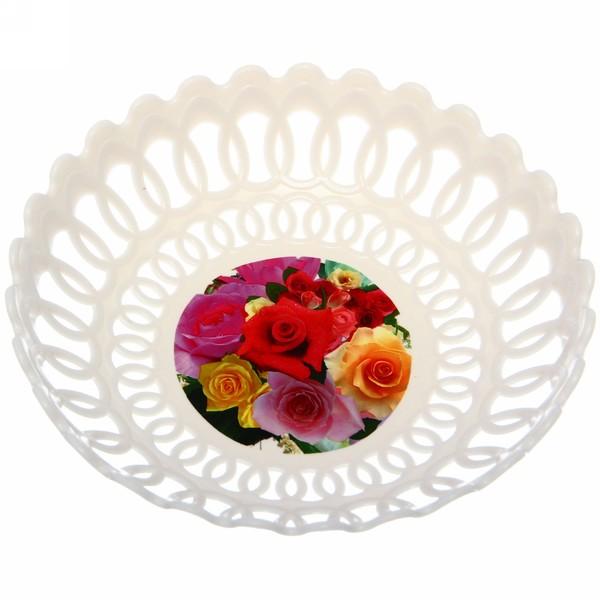 Фруктовница ″Кружево″ цветы купить оптом и в розницу