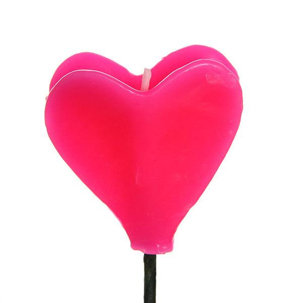 Свеча ″Сердце″ 31 см 1 штука купить оптом и в розницу