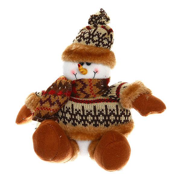 Мягкая игрушка Снеговик 22см купить оптом и в розницу