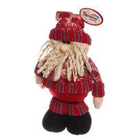 Мягкая игрушка ″Дед Мороз в одежде″ 30см купить оптом и в розницу