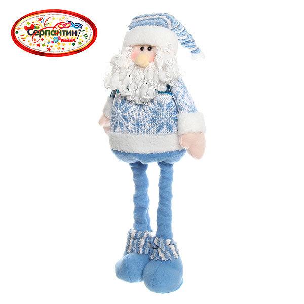 Мягкая игрушка ″Дед Мороз″ 50см выдвижные ноги купить оптом и в розницу