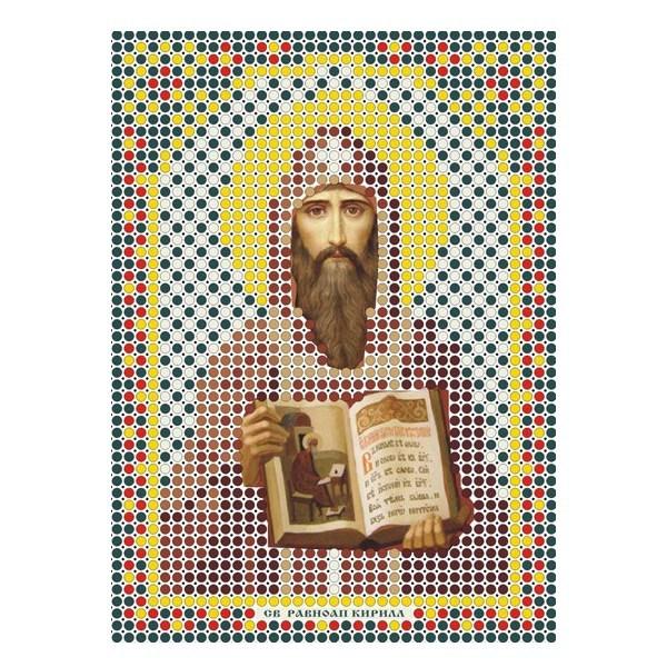 Набор для вышивания бисером ММ-045 Св.Кирилл 8*11 см купить оптом и в розницу