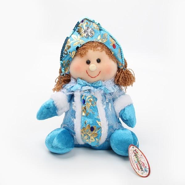 Мягкая игрушка Снегурочка 25см купить оптом и в розницу